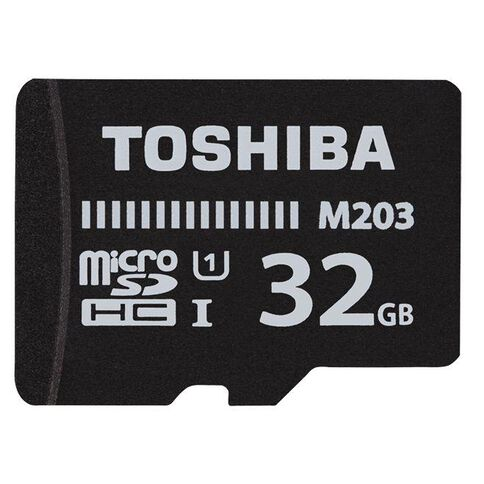 Toshiba 32GB Micro SD Card With Adapter