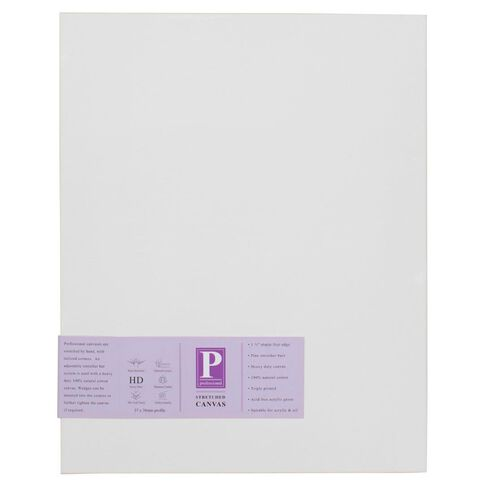 DAS Professional HD Canvas 12 x 36 White
