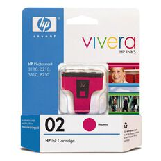 HP Ink 02 Magenta (370 Pages)
