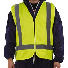 Pomona Hi Viz Vest Day Night Ttmc-W Yellow Large