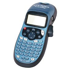 Dymo LetraTag Hand Held Label Maker LT100 Blue