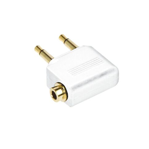 Pudney Airline Adaptor White