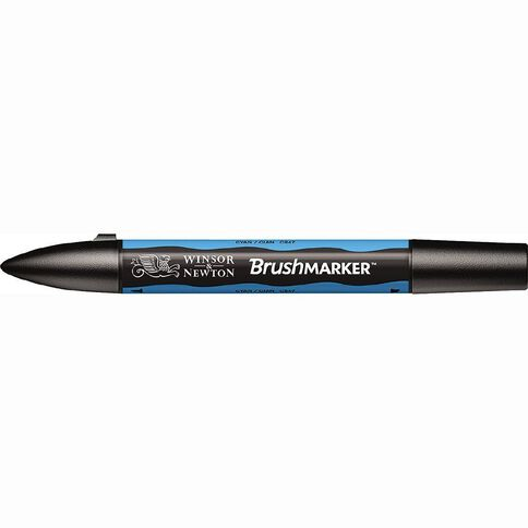 Winsor & Newton Brushmarker Single Cyan Blue