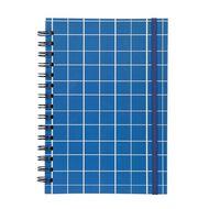 Uniti Geo Notebook Spiral Blue A5