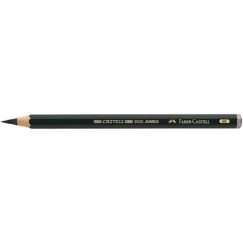 Faber-Castell Artist Grade 9000 Jumbo Pencil 6B