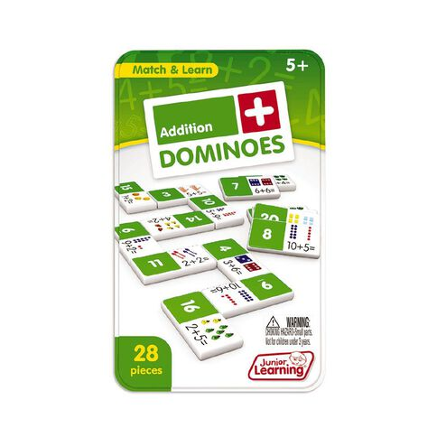 Junior Learning Addition Dominoes