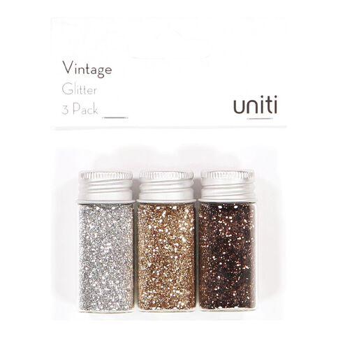 Uniti Vintage Glitter 3 Pack