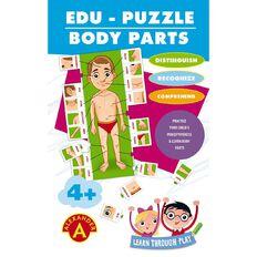 Alexander Games Edu-Puzzle Body Parts