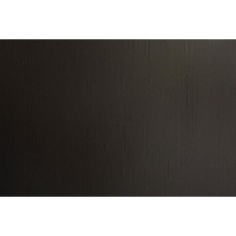 Plasti-Flute Sheet 600mm x 900mm Black