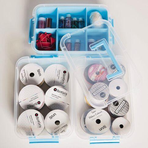 Uniti Craft 3 Layer Handle Box & Tray