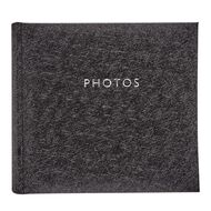 Living & Co Photo Album Black 4in x 6in 200 Pockets