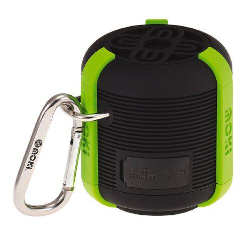 Moki AquaBass Waterproof Bluetooth Speaker Black