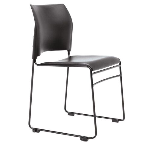 Buro Seating Maxim Chair Powdercoat Frame Black