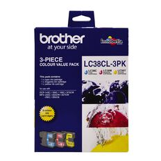 Brother Ink LC38 Colour 3 Pack (260 pages)