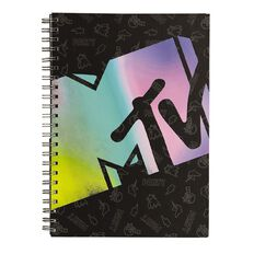 Visual Diary Spiral MTV A4