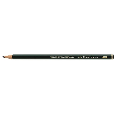 Faber-Castell Drawing Pencil 9000 7B Black