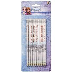 Frozen HB Pencil 10 Pack With Eraser