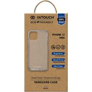 INTOUCH iPhone 12 Mini Vanguard Drop Protection Case Clear