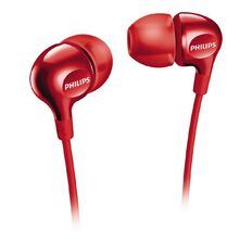 Philips In Ear Earbud SHE3700R Red