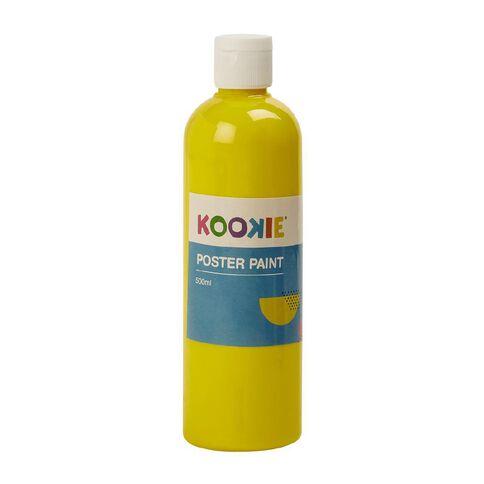 Kookie Poster Paint Yellow 500ml