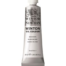 Winsor & Newton Winton Oil Paint 37ml Zinc White