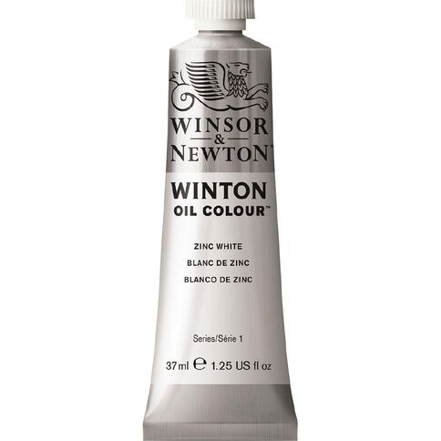 Winsor & Newton Winton Oil Paint 37ml Zinc White