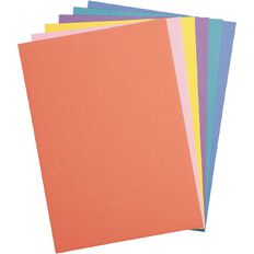 Uniti Value Cardstock Textured 216gsm 30 Sheets Brights A4