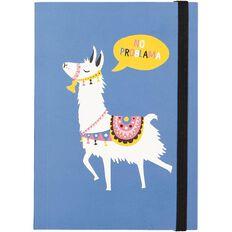 Uniti Llama Hardcover Notebook A6