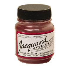 Jacquard Acid Dye 14.17g Cherry Red