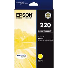 Epson Ink 220 Yellow (165 Pages)