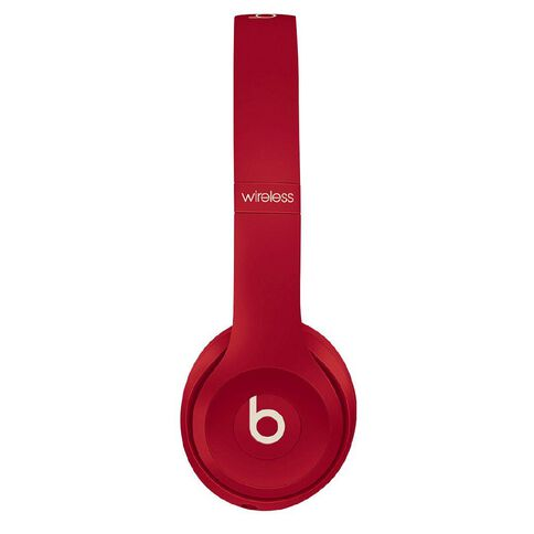 Beats Solo3 Wireless Headphones - Club Collection - Club Red