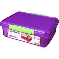 Sistema Klip It Tinted Lunch Box 2L Assorted