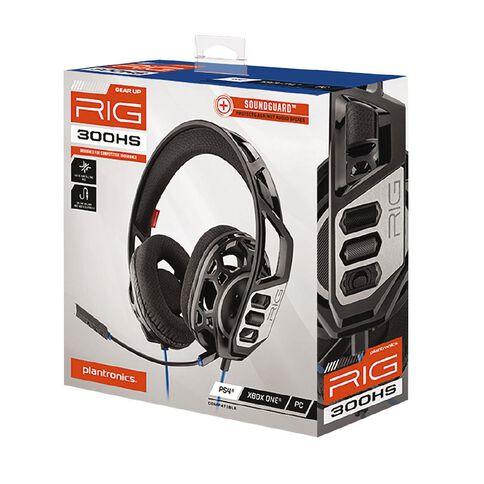 PS4 RIG300HS Headset Black