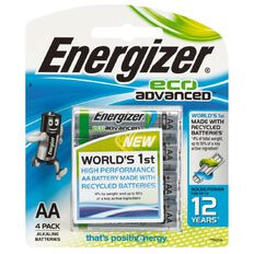 Energizer Eco Advanced AA 4 Pack