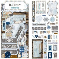 Bo Bunny Die Cuts Assorted