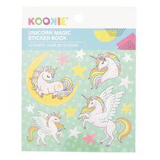 Kookie Mini Sticker Book 12 Sheets Unicorn Magic