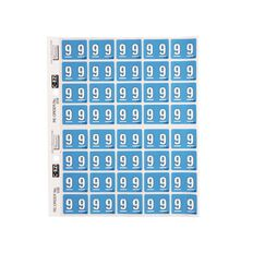 Filecorp Coloured Labels 9 Blue
