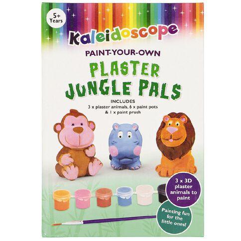 Kaleidoscope Plaster Kit Jungle Pals 3 Pack