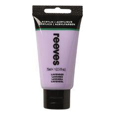 Reeves Fine Acrylic 75ml Lavender 305 75ml