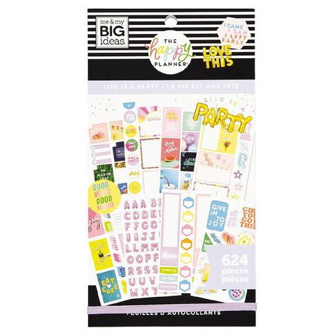 Me & My Big Ideas Sticker Book Life Is A Party