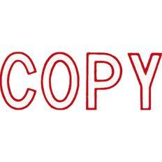 Xstamper Stamp Copy Outline Red