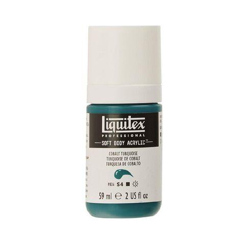 Liquitex Soft Body Acrylic 59ml Cobalt Turquoise S4