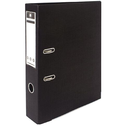 Office Supply Co Lever Arch Black Foolscap