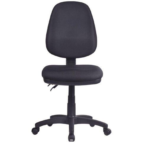 Workspace 3 Lever Highback Chair Black Black