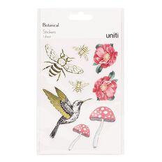 Uniti Botanical Clear Stickers