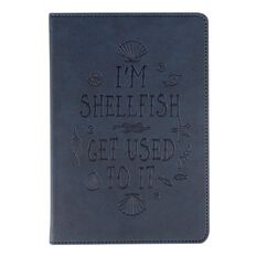 Banter Shellfish Faux Leather Notebook A5