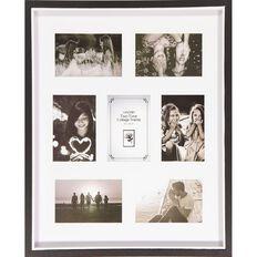 Uniti Two Tone Collage Box Frame Black 40 x 50cm Black