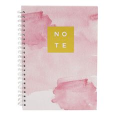 Uniti Dream Spiral Notebook with Gold Foil A4