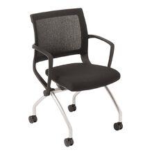 Eden Team Mesh Back Nesting Chair Black
