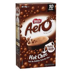Nestle Aero Hot Chocolate 10 Pack